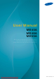 Samsung ME40A User Manual