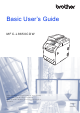 Brother MFC-L8650CDW Basic User's Manual
