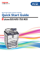 Toshiba e-studio 555 Quick Start Manual