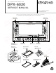 Kenwood DPX-6020 Service Manual