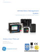 GE MM300 Instruction Manual
