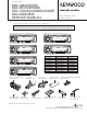 Kenwood KDC-348U Service Manual