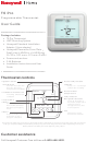 Honeywell T6 Pro User Manual