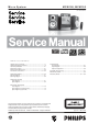 Philips MCM190 Service Manual