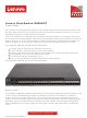 Lenovo RackSwitch G8264CS Product Manual