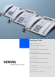 Siemens optipoint 500 Information And Important Operating Procedures