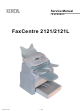 Xerox FaxCentre 2121 Service Manual