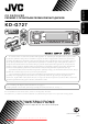 JVC kd-g727 Instruction Manual