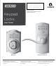 Schlage Fe595 Manuals