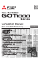 Mitsubishi Electric GOT1000 Series Connection Manual