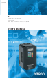 Omron 3G3RX Series User Manual