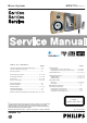 Philips MCW770 Service Manual