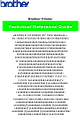 Brother HL-1050 Technical Reference Manual