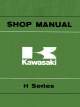 Kawasaki H1 Shop Manual