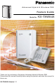 Panasonic KX-TAW848 Features Manual