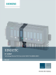 Siemens SIMATIC ET 200SP Manual