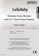 Hitachi LULLABABY BCM241T08 Owner's Manual