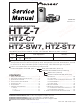 Pioneer HTZ-7 Service Manual
