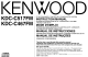 Kenwood KDC-C517FM Instruction Manual