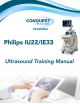 Philips iU22 Training Manual