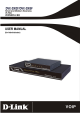 D-Link DVX-2002F User Manual