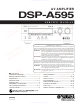Yamaha DSP-A595 Service Manual