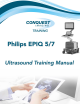 Philips epiq 5 Training Manual