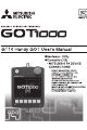 Mitsubishi Electric GT14 User Manual
