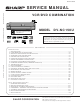 Sharp DV-NC150U Service Manual