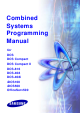 Samsung DCS Compact Programming Manual