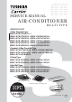 Toshiba Carrier MMC-AP0421H2UL Service Manual