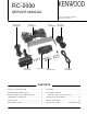 Kenwood RC-2000 Service Manual