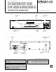 Kenwood DV-502 Service Manual