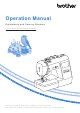 Brother 888-M00 Operation Manual
