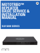 Motorola MOTOTRBO Basic Service & Installation Manual