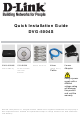 D-Link dvg-5004s Quick Installaion Manual