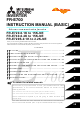 Mitsubishi Electric FR-E720-15K-NE Instruction Manual