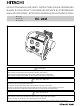 Hitachi EC 28M Safety And Instruction Manual