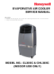 Honeywell CHL30XC Service Manual