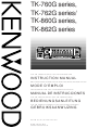 Kenwood TK-762G series Instruction Manual