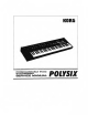 Korg POLYSIX Service Manual