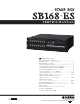 Yamaha SB168-ES Service Manual