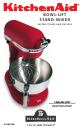 KitchenAid 4KB25G1XOB3 Instructions & Recipes