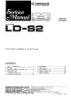 Pioneer LD-S2 Service Manual