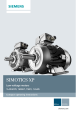 Siemens SIMOTICS XP 1MB1 Compact Operating Instructions