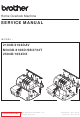 Brother 1034DX Service Manual