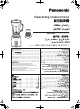 Panasonic MX-GX1561 Operating Instructions Manual