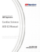 Cardiac Science Powerheart AED G3 Plus 9390A Operator's And Service Manual