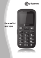 Amplicomms PowerTel M6350 Manual