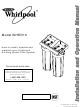 whirpool operations View and download whirlpool washing machine operation manual online washing machine washer pdf manual download also for: azb 8680, azb 7670.